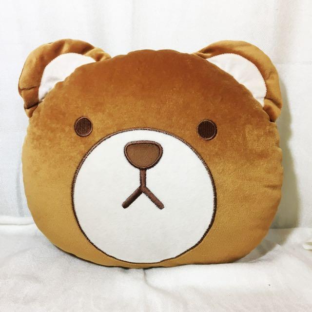 《全新》熊熊午睡枕 靠墊