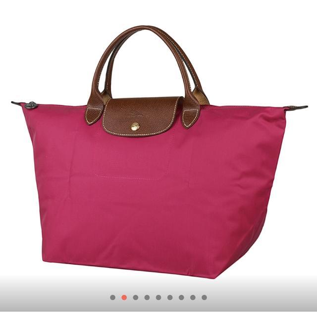 正品 Longchamp 中型短把包包