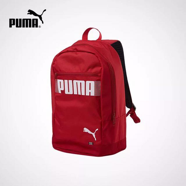 全新 Puma 雙肩包 紅