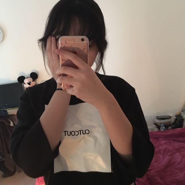 A, Korean Brand T-shirt