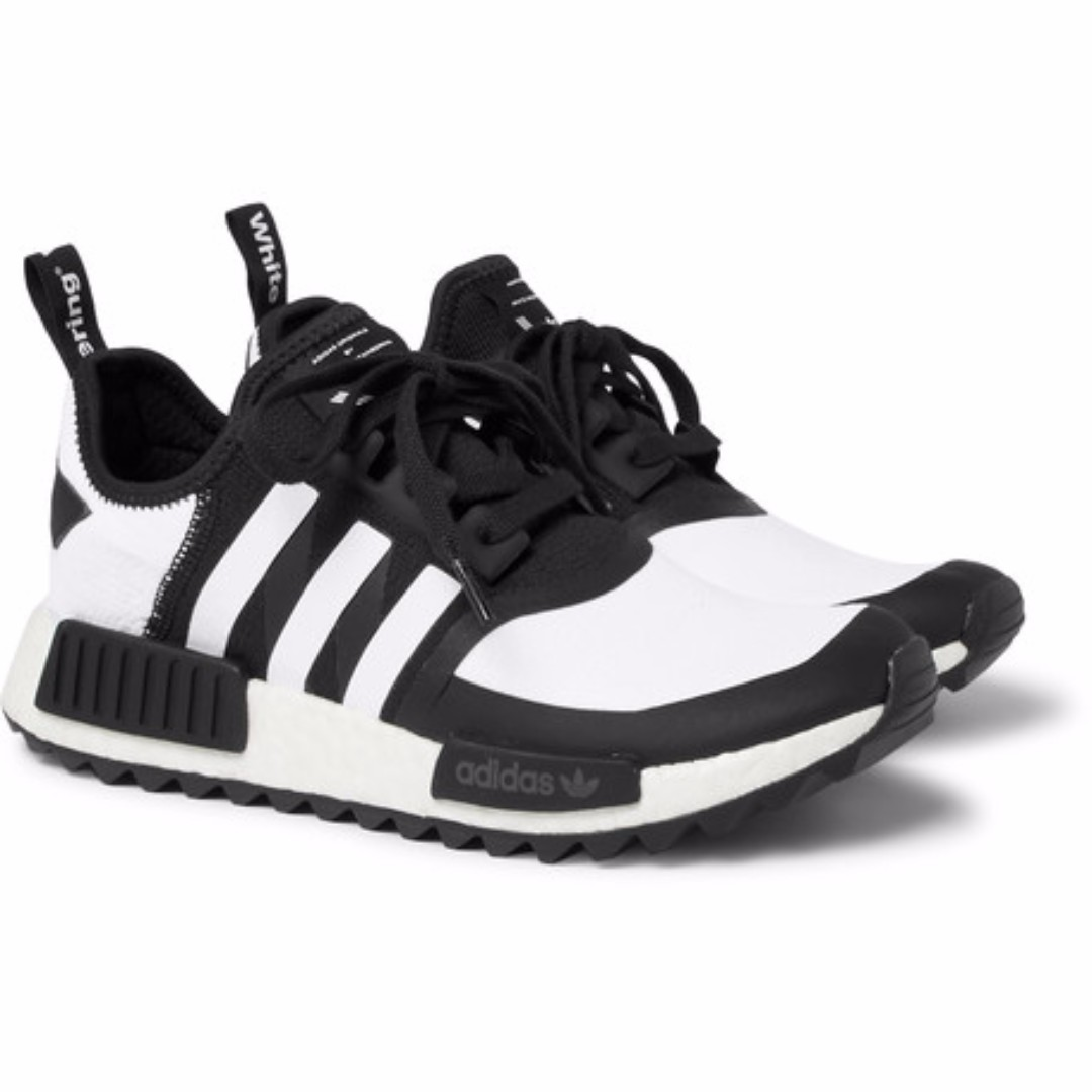 1233dc21460f7 ADIDAS ORIGINALS + White Mountaineering NMD R1 Trail Primeknit ...