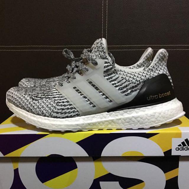 9cee3b91a Adidas Ultra Boost 3.0 Zebra Oreo