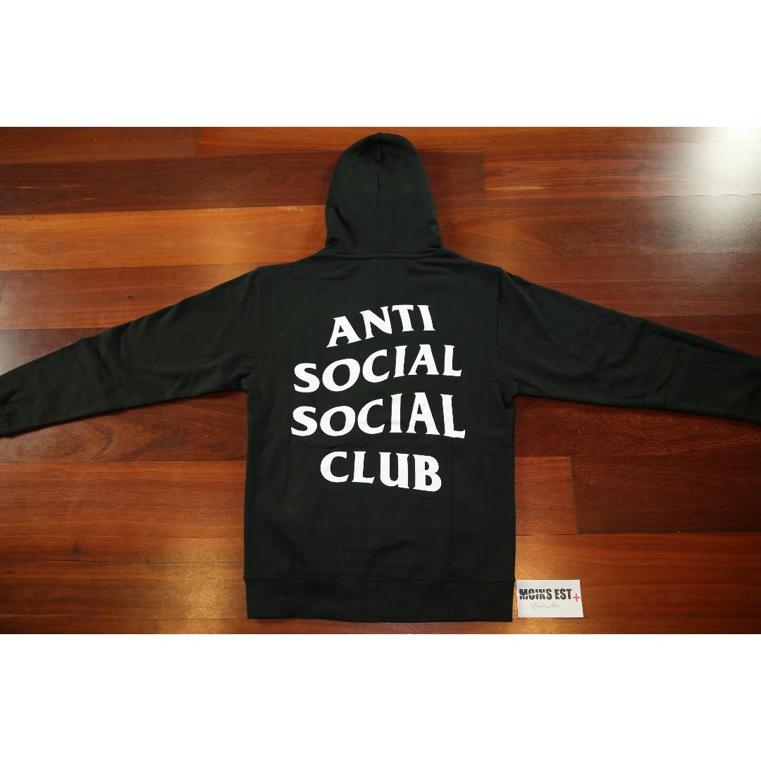 159d05b0db1d ANTI SOCIAL SOCIAL CLUB ASSC Mind Games Hoodies - Black