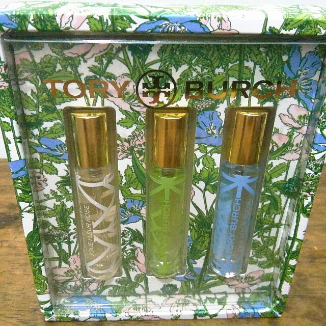 Authentic Tory Burch Joli Fleur Mini Travel Spray Set
