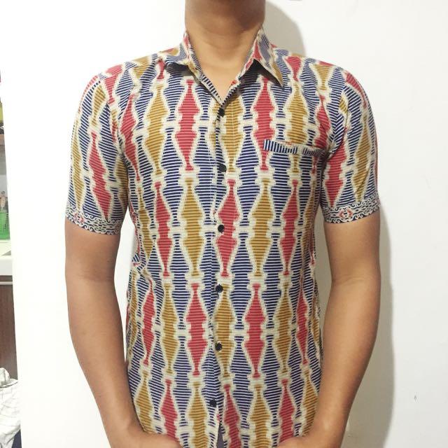 Baju batik size L