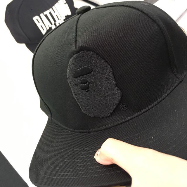 BAPE APE HEAD SNAPBACK CAP 7bf49c362c5
