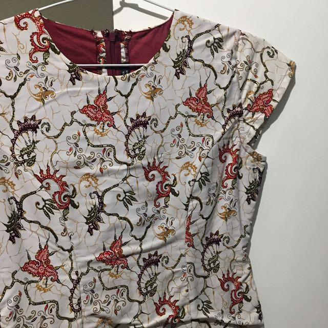 Batik Dress Kencana Pajajaran