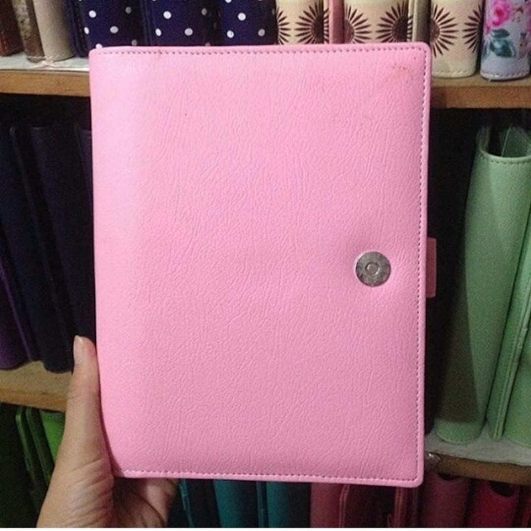 binder soft pink 26ring