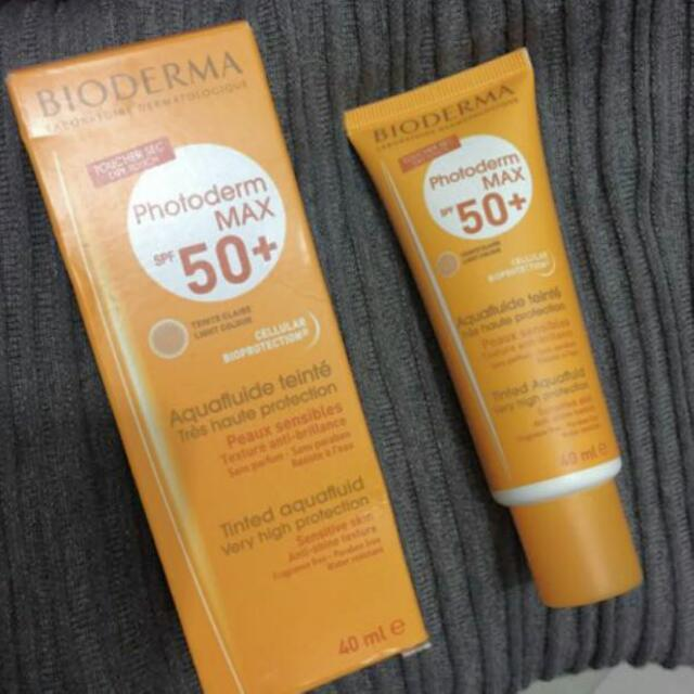 Bioderma Tinted Sunscreen