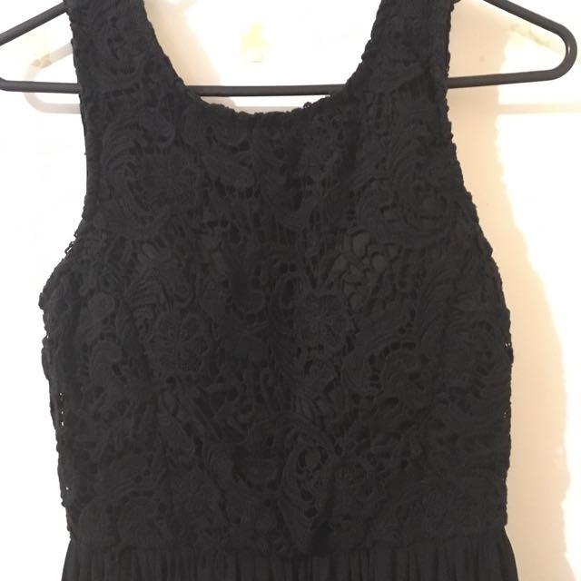 Black Dress from Amazon Surf Skate