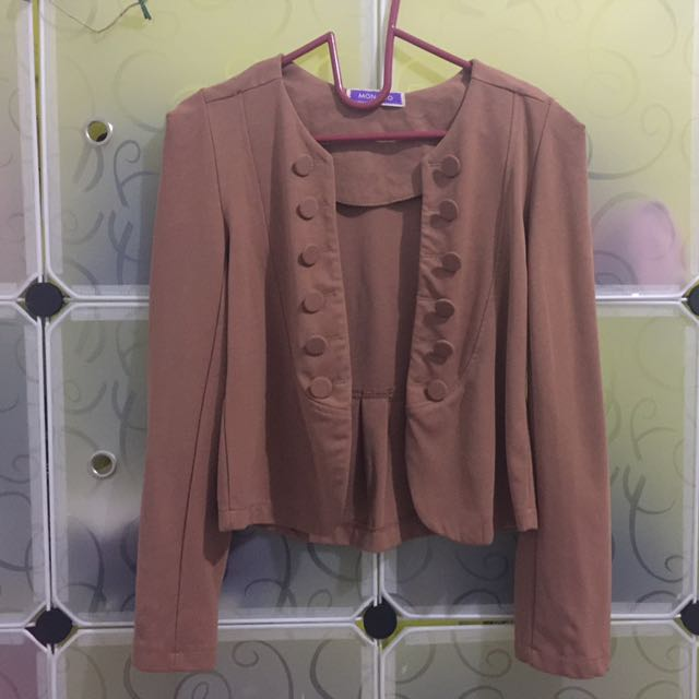 Brown Army Blazer