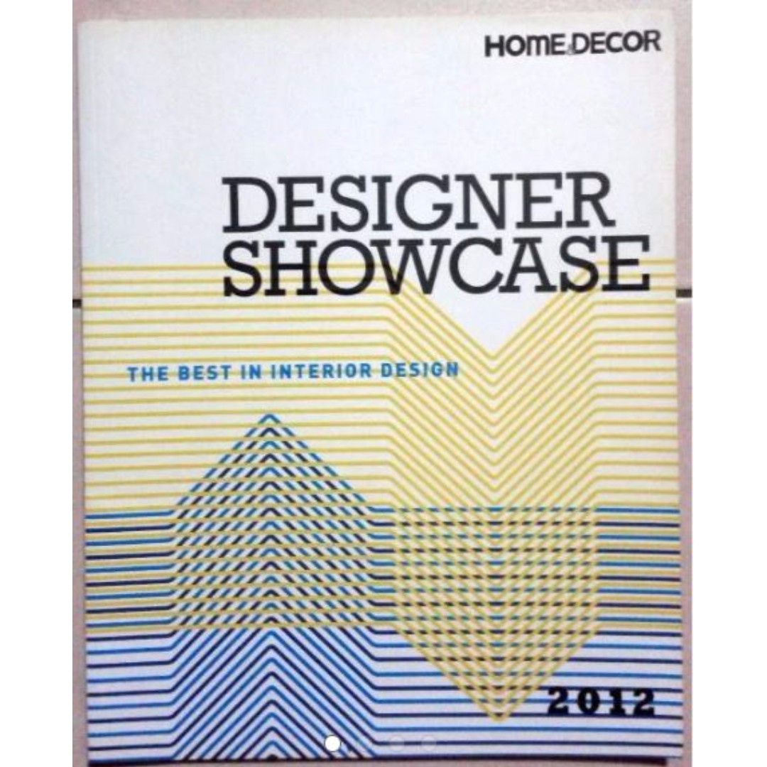 Buy 2 Get 1 Free Home Decor Designer Showcase 2012 Books