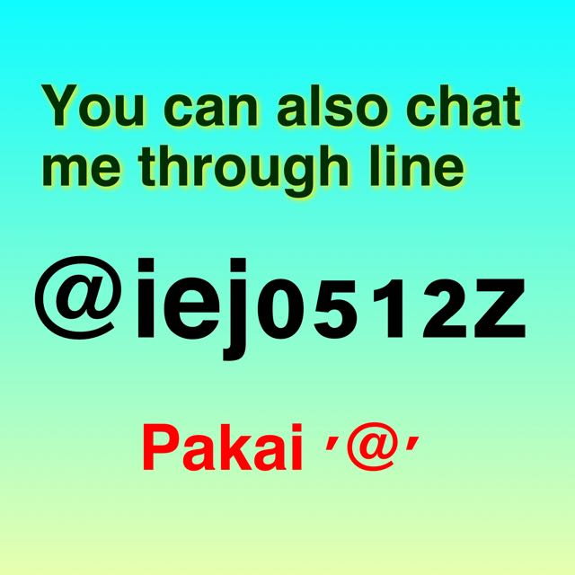 Chat Me 💕💕💕