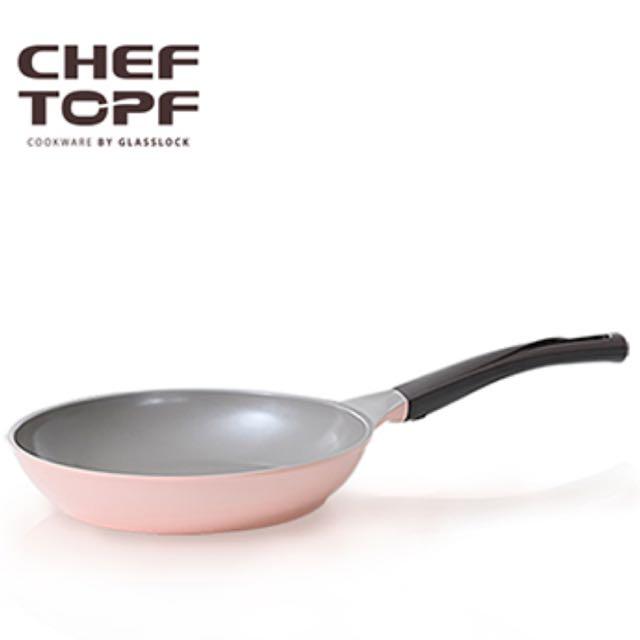 CHEF TOPF 薔薇玫瑰鍋-26cm 不沾平底鍋