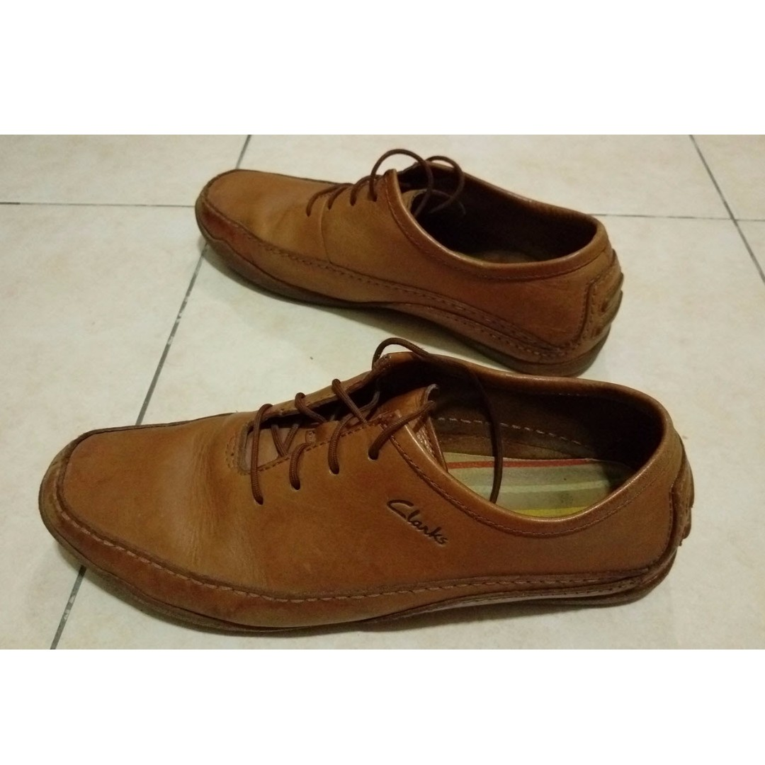 Clarks Shoes - Leather light brown