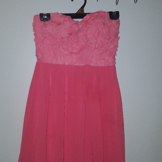 Coral Pink Dress