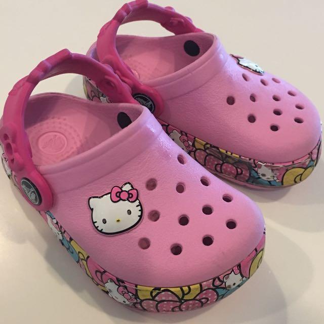 Crocs Hello Kitty With Lighting