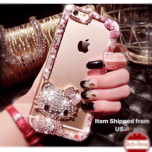 💎Diamond Hello Kitty Phone Case💎