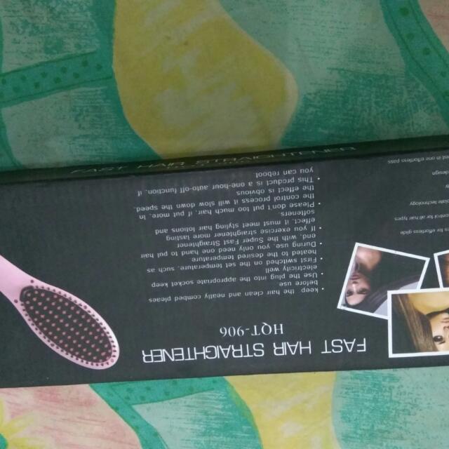 Dijual Fast Hair Straightener Supaya Rambut Makin Lurus