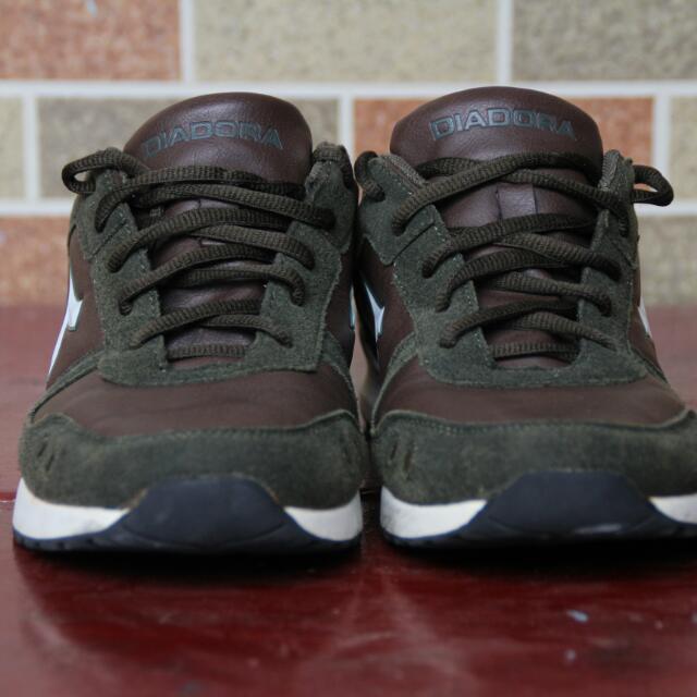 Diodora Shoes Dark Green