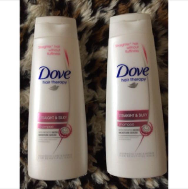 Dove Straigth And Silky Shampoo 90ml