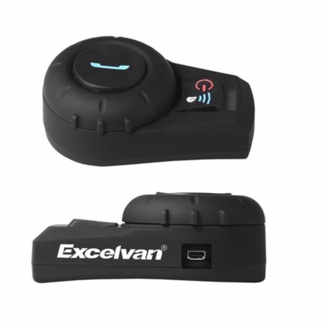 Excelvan BT Motorcycle Helmet Bluetooth Headset Motorbike