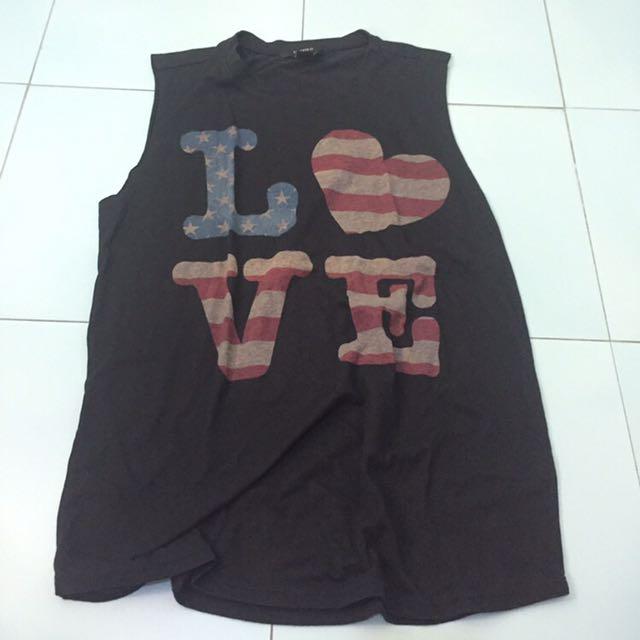 F21 Love Top