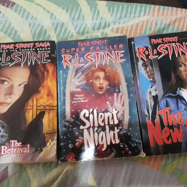 Fearstreet RL Stine Bundle