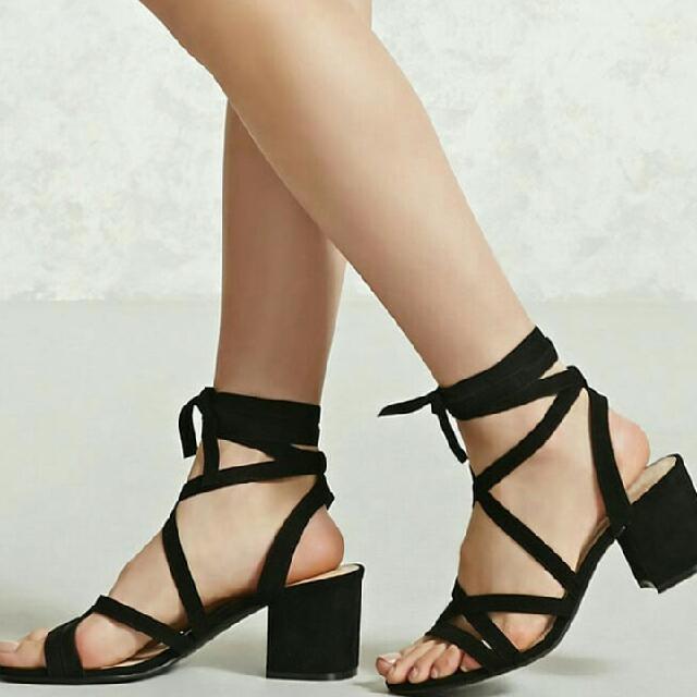 Forever 21 Blocked Heels