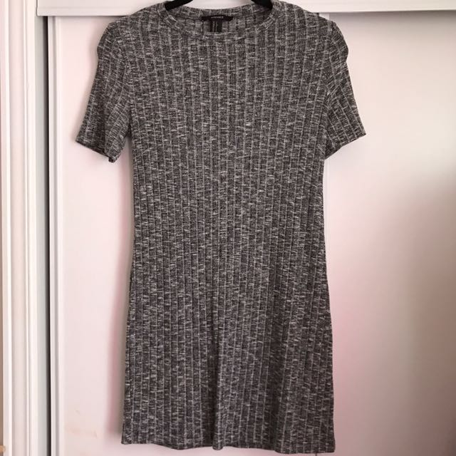 Forever 21 Marble Grey T Shirt Dress