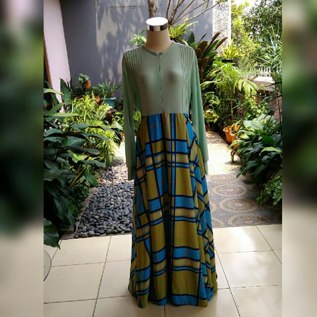 Gamis/ Maxy Dress /Longdress Biru