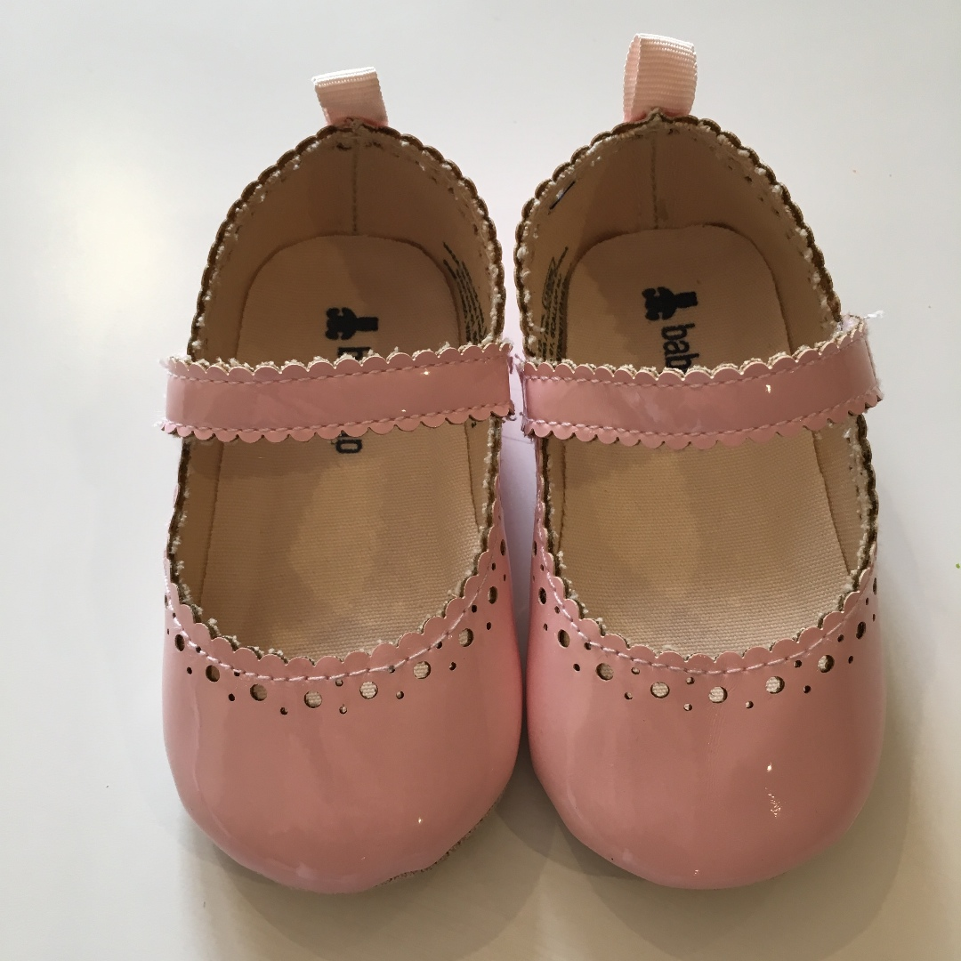 Gap Pink Scalloped Mary Janes