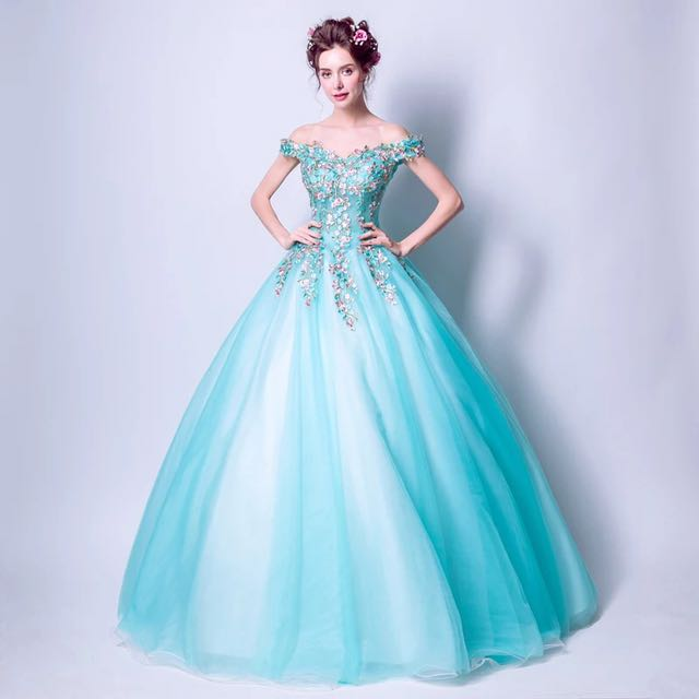 Garden Fairy Gown, Women\'s Fashion, Clothes, Dresses & Skirts on ...