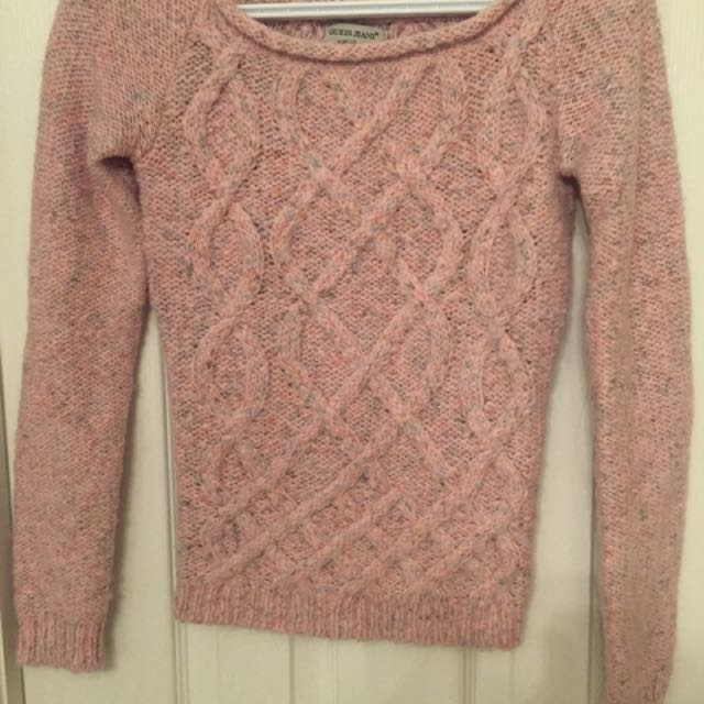 Guess Cable Sweater - Size XS