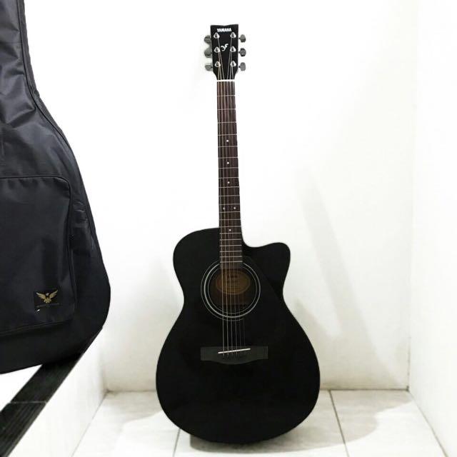 Guitar YAMAHA Gitar Accoustic Black/Matte BRAND NEW Murah
