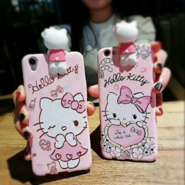 😻Hello Kitty Squish Phone Cases😻