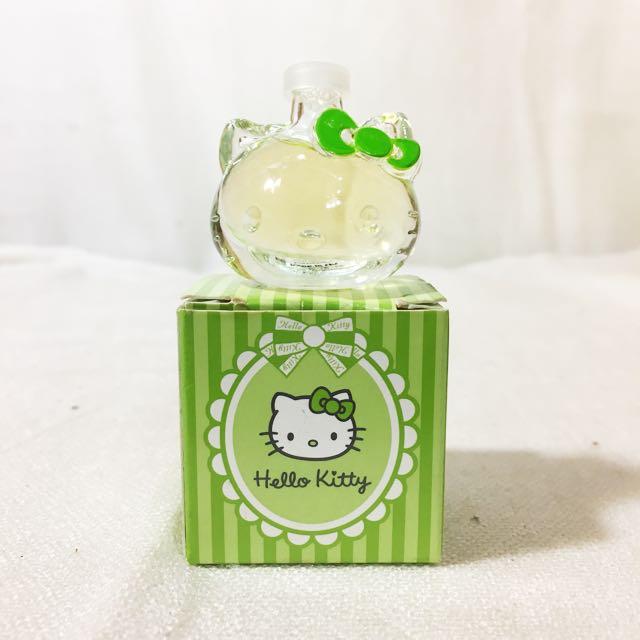 《全新》HELLO KITTY~Girl迷你Q小香水(5ml) 青蘋果