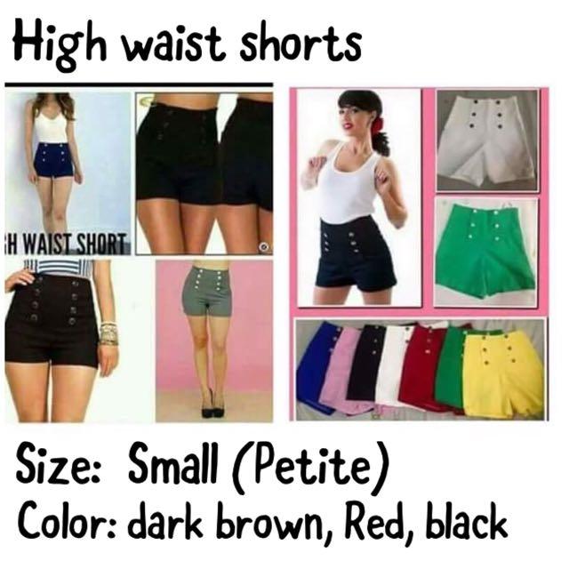 Hi-waist Sexy shorts