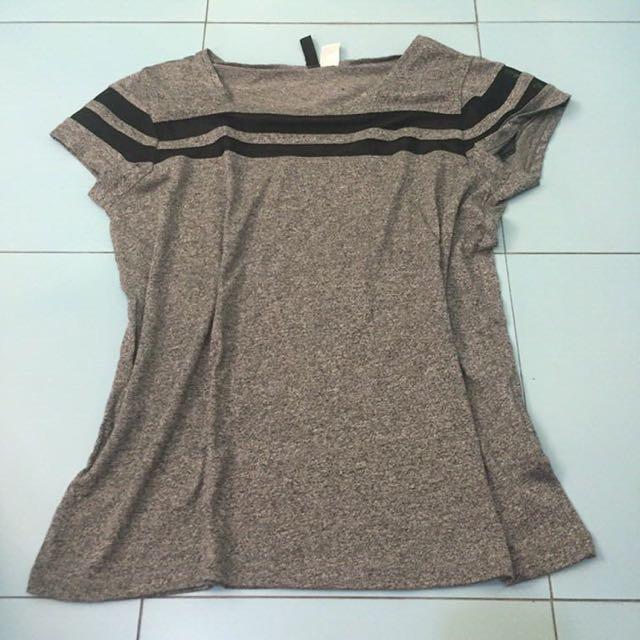 H&M Gray Top