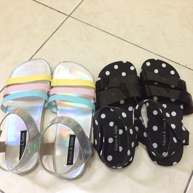 Holo Slip Shoes