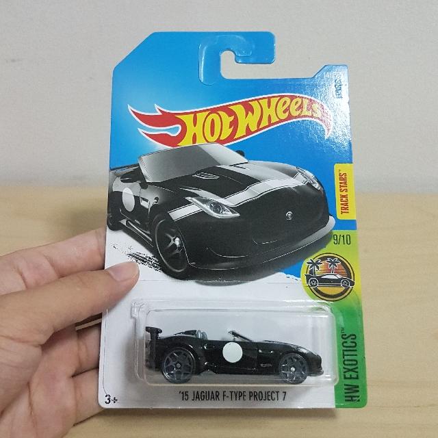 Hotwheels [15u0027 Jaguar F Type Project 7], Toys U0026 Games, Bricks U0026 Figurines  On Carousell