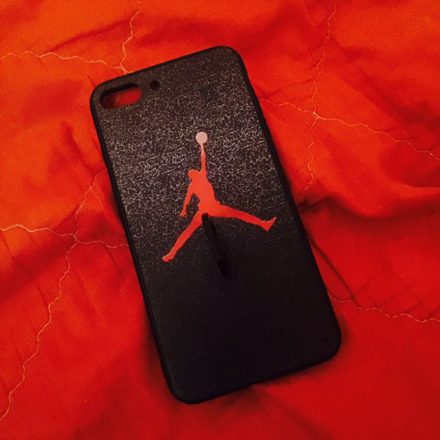 Iphone 7+ Jordan Case With Ring