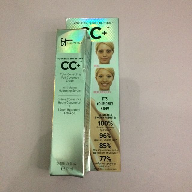 IT Cosmetics CC Cream Your skin but better