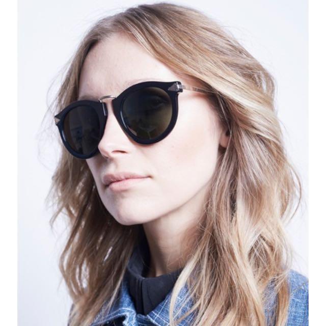 1bad630c309b Karen Walker Harvest Black Sunglasses
