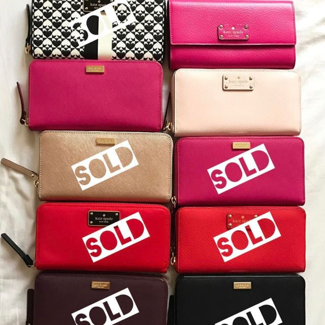 Kate Spade Wallet (Authentic & Brand New)