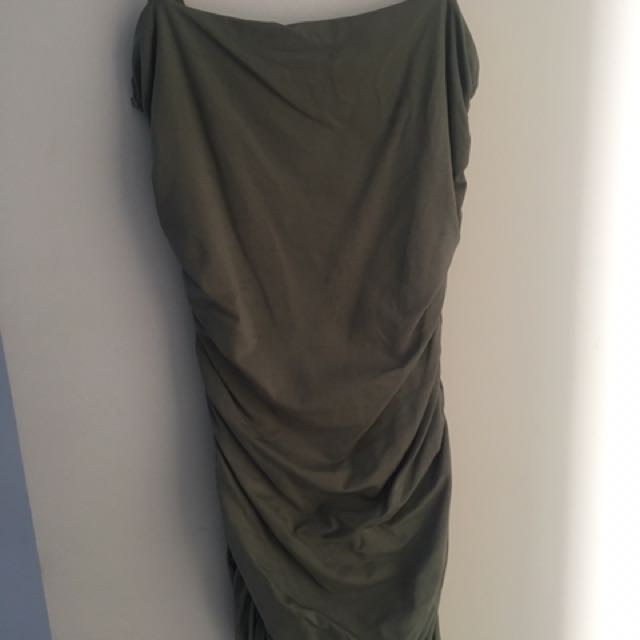 KOOKAÏ Olive Green Dress