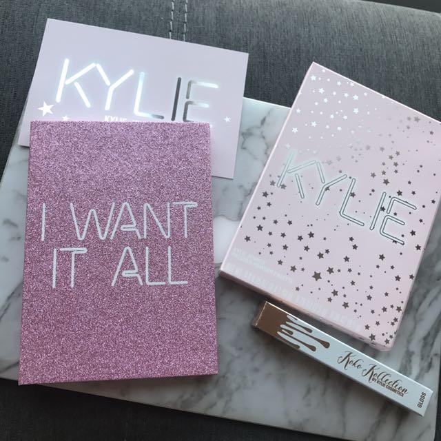 美國Kylie超夯限量眼影盤修容大地色代購
