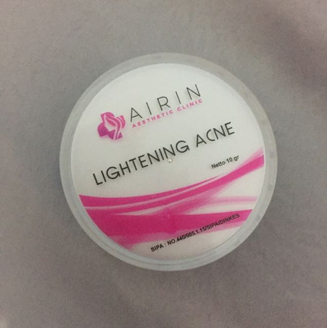 Lightening Acne Airin