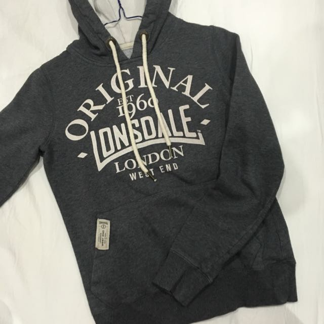 Lonsdale London Grey Jumper