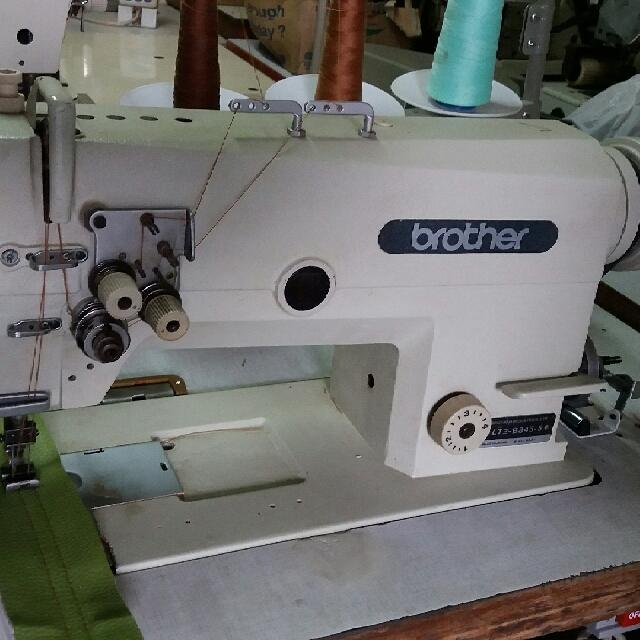 Mesin Jahit Hight Speed Jarum 2 Merk Brother 438 5 Jepang Ready Di Daerah Depok